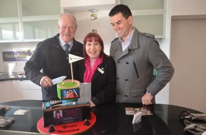Cake Cutting at the InnoHomes Display Home