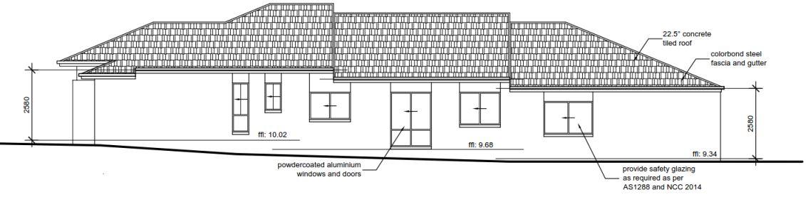 Stepped House Design